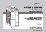 Royal Sovereign ARP-9009TL Air Conditioner User Manual