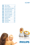 Philips SCD489 Baby Monitor User Manual
