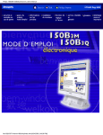 Philips 150B3M Computer Monitor User Manual
