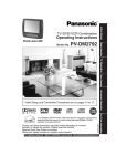 Panasonic PV-DM2792 TV DVD Combo User Manual