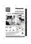 Panasonic PV 27D53 TV DVD Combo User Manual