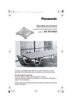Panasonic KX-TS730AZ Conference Phone User Manual