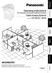 Panasonic DP-8025 Fax Machine User Manual