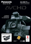 Panasonic AG-HMC74 Camcorder User Manual