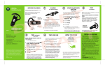 Motorola H670 Bluetooth Headset User Manual