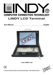 Lindy GMBH Computer Accessories User Manual