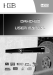 Kodak DRHD-120 DVD Player User Manual