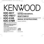 Kenwood KDC-516S CD Player User Manual