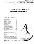 Jenn-Air JDB8910 Dishwasher User Manual