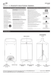 iLive ISBW2113B Speaker System User Manual