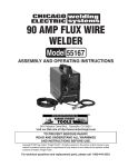 Harbor Freight Tools 55167 Welder User Manual