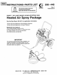 Haier 237410 Paint Sprayer User Manual