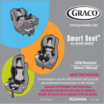 Graco PD254443A Car Seat User Manual