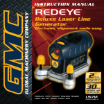 Global Machinery Company LS LINE/REDEYE Portable Generator User Manual