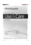 Frigidaire FFMV162LB Microwave Oven User Manual