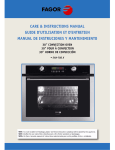 Fagor America SHA-730 X Convection Oven User Manual