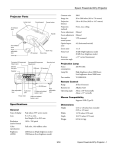 Epson 821P Projector User Manual
