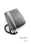 Doro 515C Telephone User Manual