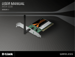 D-Link 2320 Network Card User Manual