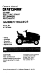 Craftsman 917.27306 Lawn Mower User Manual