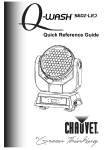 Chauvet 560Z-LED All in One Printer User Manual