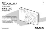 Casio EX-Z1200 Digital Camera User Manual