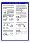 Casio 3022 Watch User Manual