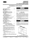 carrier air conditioner instructions