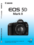 Canon MARK II Digital Camera User Manual
