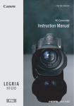 Canon HFG10 Digital Camera User Manual