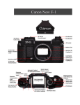 Canon F1-N Film Camera User Manual