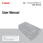 Canon 5482B002 Scanner User Manual