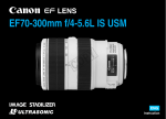 Canon 4426B002 Camera Lens User Manual