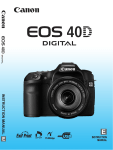Canon 40D Digital Camera User Manual