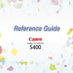 Canon 3748B002 All in One Printer User Manual