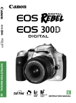 Canon 300D Digital Camera User Manual