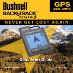 Bushnell 360100 GPS Receiver User Manual