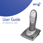 BT Freestyle 3500 Answering Machine User Manual
