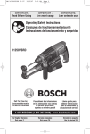 Bosch Power Tools 11250VSRD Drill User Manual