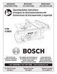 Bosch Appliances 4100
