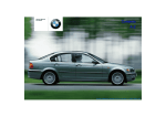 BMW 325XI Automobile User Manual