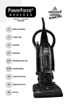 Bissell 58F8 Vacuum Cleaner User Manual