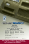 Beltronics V960/V940 Radar Detector User Manual