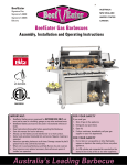 BeefEater Gas Barbecues Gas Grill User Manual