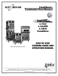 Alto-Shaam 4.10CCi Oven User Manual