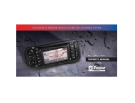 Alpine Navigation Radio Portable Radio User Manual