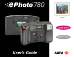 AGFA 780 Digital Camera User Manual