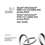 3Com 9150 Network Router User Manual