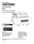 Craftsman 921.153120 Owner`s manual