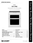 Sharp KB-3300J Installation manual